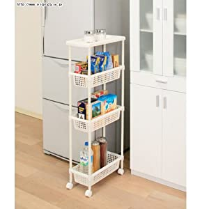 Amazon com laundry kitchen cart for narrow space mkw 4s