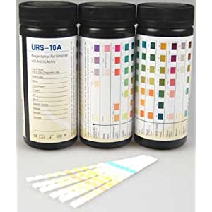 1 x 100 x 10 parameter mission urinalysis multisticks for Table 6 simulated urine protein test