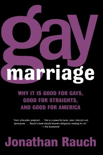 Why gay marriage is good