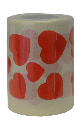 Hearts Toilet Paper - 1