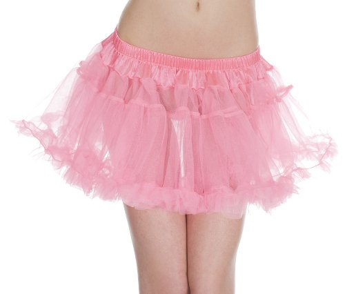double layers mesh petticoat