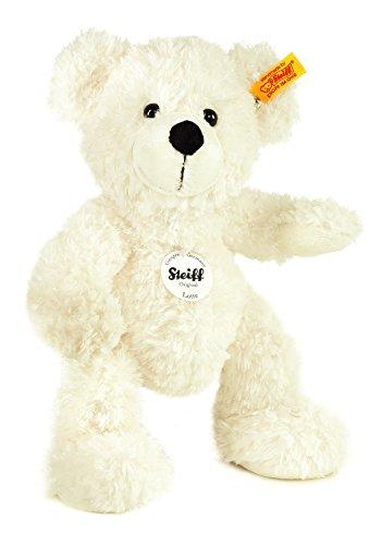 Steiff 111310 – Teddybär 28 cm Lotte weiss