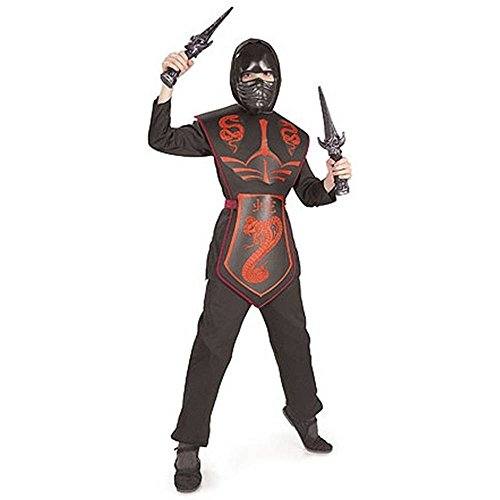 Red Cobra Ninja Kids Costume
