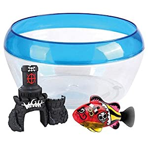Share robo fish pirate with bow has been added to your for Fish bowl toy
