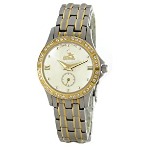 MLB Women's MLS-DET Legend Series Detroit Tigers White Dial Watch
