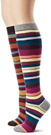 PACT Womens 2-Pair Pack Knee Socks
