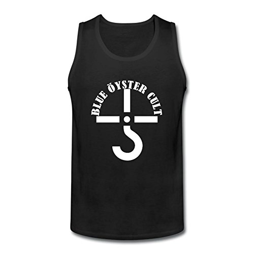 VEBLEN Men's Blue Oyster Cult Design Cotton Tank Top (The Blue Oyster Cult Shirt compare prices)