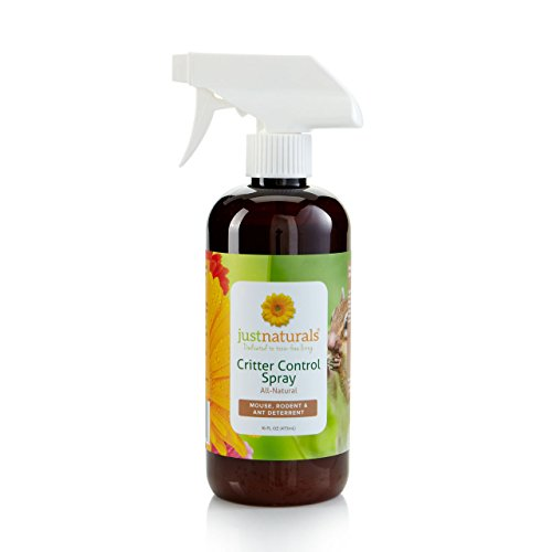 Just Naturals Mouse, Critter & Insect Control made with 100% Pure Essential Oils- 16 oz.