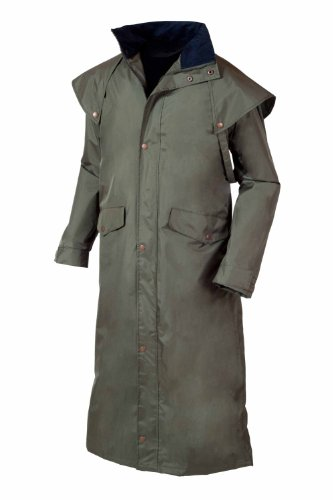 Target Dry Mens Stockman 2 Coat Khaki