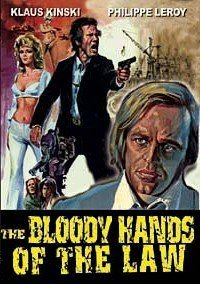 The Bloody Hands of the Law - Klaus Kinski by Mario Gariazzo