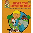 Never Too Little to Help by Diane Ohanesian