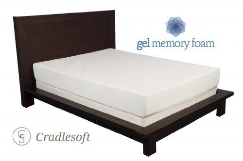 Cradlesoft¨, 8-Inch Gel Memory Foam Mattress, Twin Xl