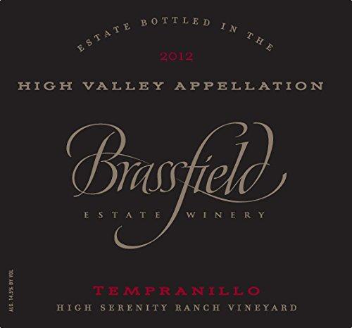 2012 Brassfield Estate Tempranillo