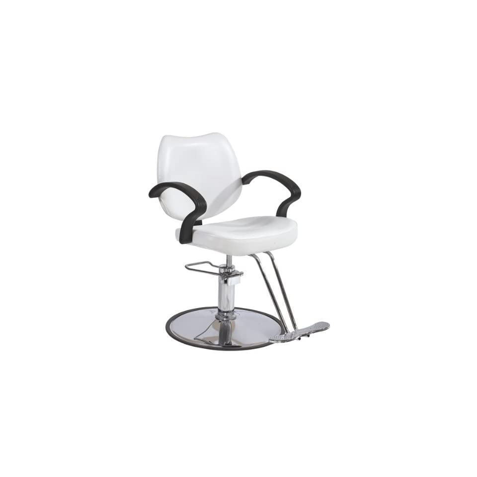BestSalon® White Modern Fashion Classic Hydraulic Barber Chair Styling Salon Beauty 3W