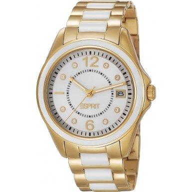 Esprit ES105882003 Ladies Marin Ceramic Pure Gold Watch