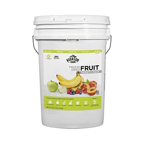 Augason Farms Freeze Dried Fruit Variety Pail