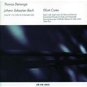 J.S. Bach / Elliott Carter
