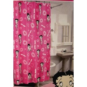 BETTY BOOP SHOWER CURTAINS « Blinds, Shades, Curtains