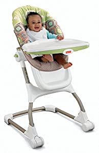 Fisher-Price EZ Clean High Chair, Coco Sorbet (Discontinued by Manufacturer)