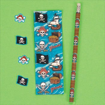 Pirate Stationery Set (1 ct)