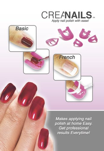 CreaNails -Professional Nail Polish Stencils Health Beauty