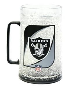 NFL Oakland Raiders 36-Ounce Crystal Freezer Monster Mug by Duck House