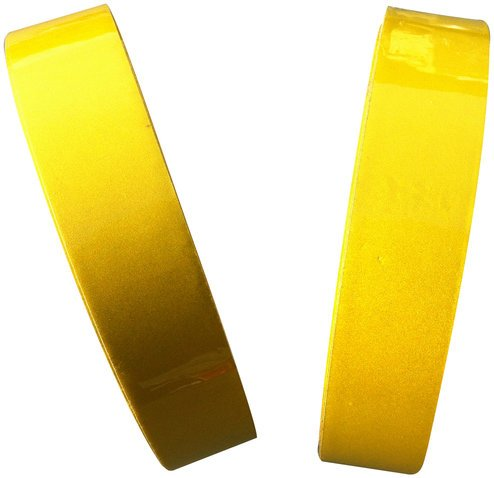 Reflective Tape Lemon Yellow 25mm X 5M Weatherproof Strong