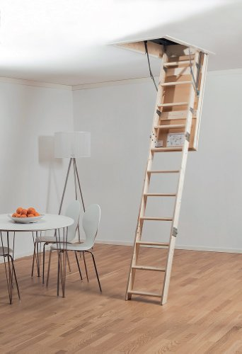 Midmade Lex 30 Timber Loft Ladder 540mm x 1130mm