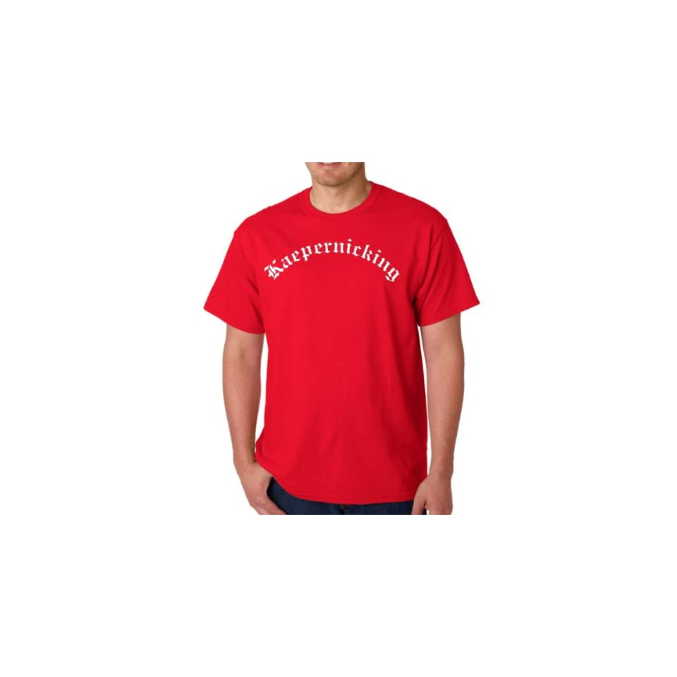 Kaepernicking Script San Francisco Red Adult T Shirt Tee (Smal)