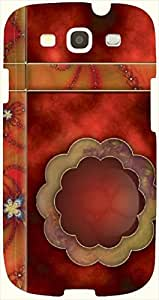 Lovely multicolor printed protective REBEL mobile back cover for S3 - Samsung I9300 Galaxy S III D.No.N-L-17317-S3