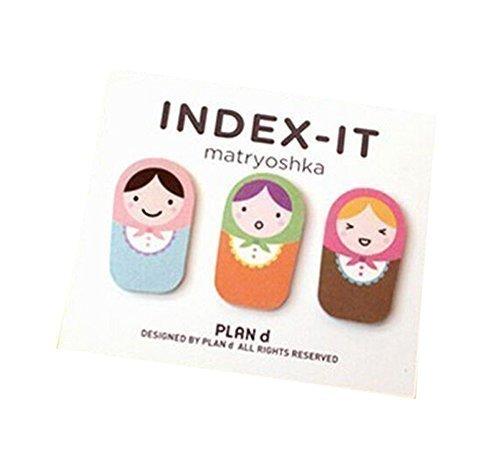 leading-star-matryoshka-doll-sticker-bookmark-marker-memo-flags-sticky-notes