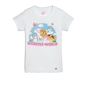 Webkinz World Tee Shirt - Small By Ganz
