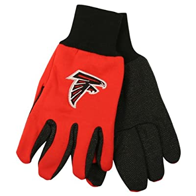 NFL Team Logo Grip Gloves - Atlanta Falcons
