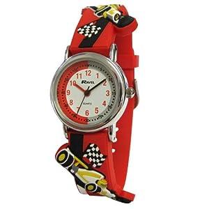 Ravel R1513.31R - Reloj para niños de cuarzo, correa de plástico color varios colores