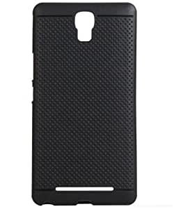 Gionee F103 Back Cover, Black Dotted Soft Silicone Back Cover Case For F103 Back Cover