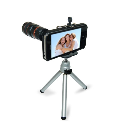IPhone 4 Stand and Zoom Lens - Eye Scope