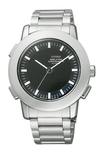 CITIZEN (シチズン) 腕時計 ALTERNA オルタナ クロノグラフ ワールドタイム VO10-5766B メンズ