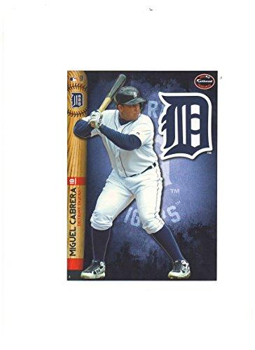 Detroit Tigers Mini Felt Pennant & Miguel Cabrera Mini Fathead 2014