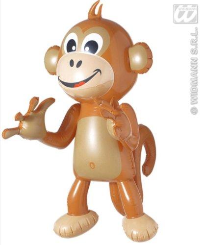 Aufblasbarer Affe 50 cm Sommer