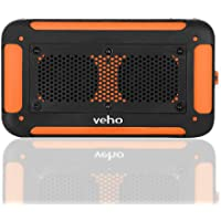 Veho VXS-002-ORG 360 Vecto Water Resistant Wireless Speaker (Orange)