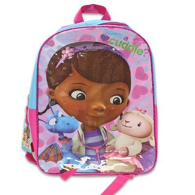"1 piece of 15"" X 12"" X 5"" DOC McSTUFFINS BACKPACK"