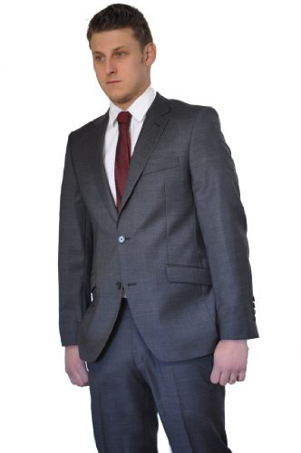 Men`s Suit Lanificio Tessile D'Oro charcoal grey 44 (34 Regular)