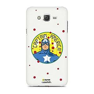 Hamee Marvel Xiaomi Redmi 2 Case Cover Captain America Paint Drops