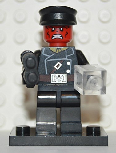 Building Toys Minifigure: Marvel Avengers Mini Figure Red Skull Custom - 1