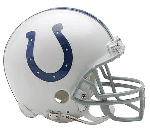 Indianapolis Colts Replica Mini Helmet w/ Z2B Face Mask