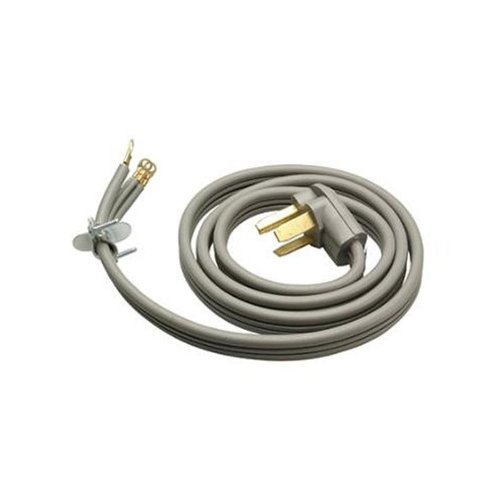 Master Electrician 09124Me 4-Feet Gray Flat Dryer Cord