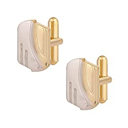 Park Avenue Gold Metal Men's Cufflinks