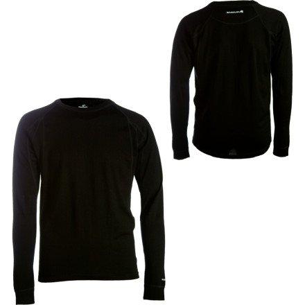 Buy Low Price Endura Baa Baa Merino Long Sleeve Base Layer (B003GNTHV6)