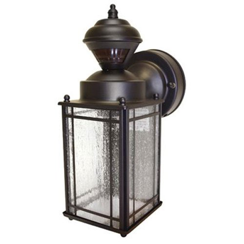 Heath/Zenith HZ-4133-OR Shaker Cove Mission-Style 150-Degree Motion-Sensing Decorative Security Light, Oil-Rubbed Bronze (Porch Lights Sensor compare prices)