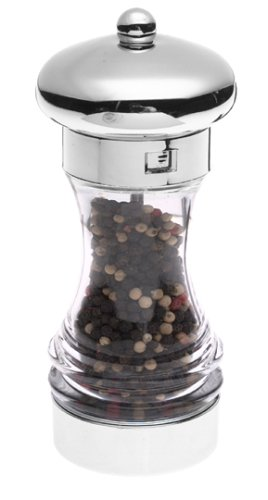William Bounds Chrisma Pepper Mill, Chrome Top